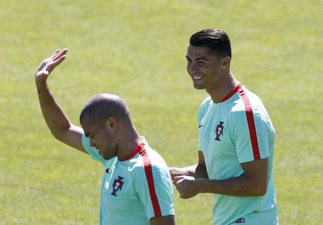 Pepe Cristiano Ronaldo Portugal