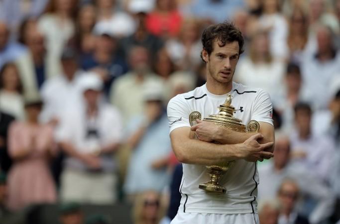 Andy Murray Wimbledon 2016 trophy