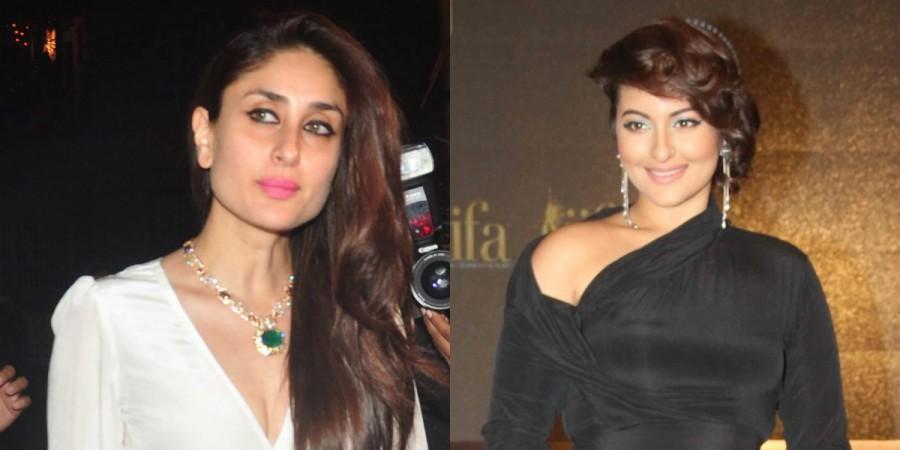 Kareena Kapoor Khan and Sonakshi Sinha