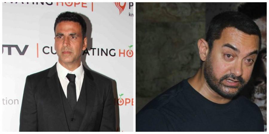 Akshay Kumar and Aamir Khan