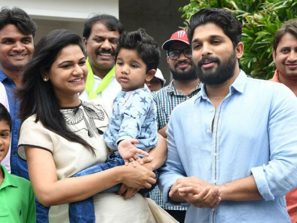 Allu Arjun's wife Sneha pregnant with 2nd child: 'Sarainodu' star
