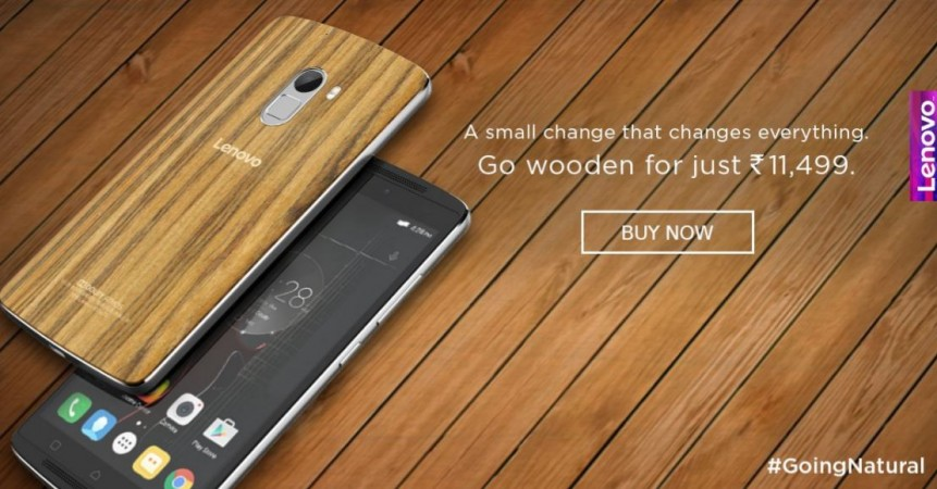 Lenovo Vibe K4 Note Wood edition released in India
