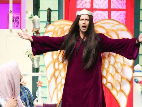 Varun Dhawan at The Kapil Sharma Show