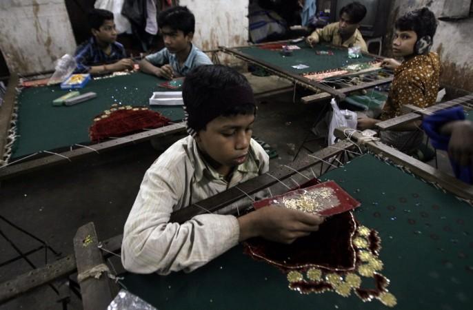 bonded labour labourer exploitation child labour child labour act satyarthi nobel