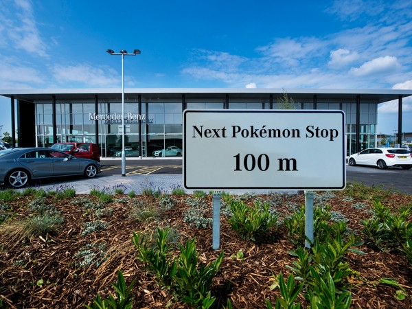 Mercedes-Benz to lure 'Pokemon Go' players to showrooms