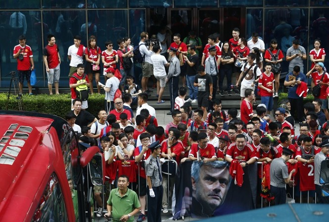 Manchester United fans Beijing