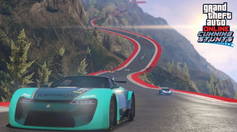 Rockstar Games adds Stunt Race Creator update for
