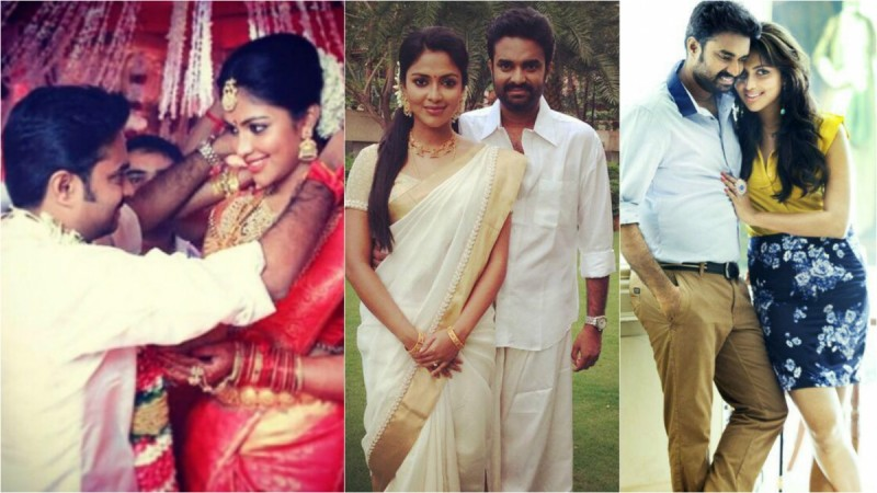 Amala Paul with her husband AL Vijay