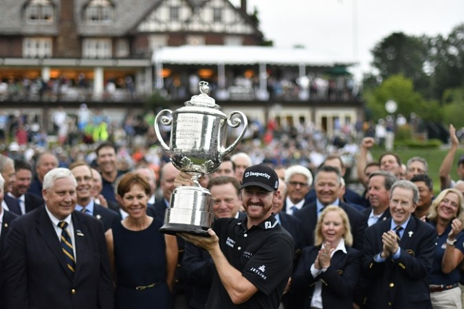 Jimmy Walker US PGA 2016 trophy