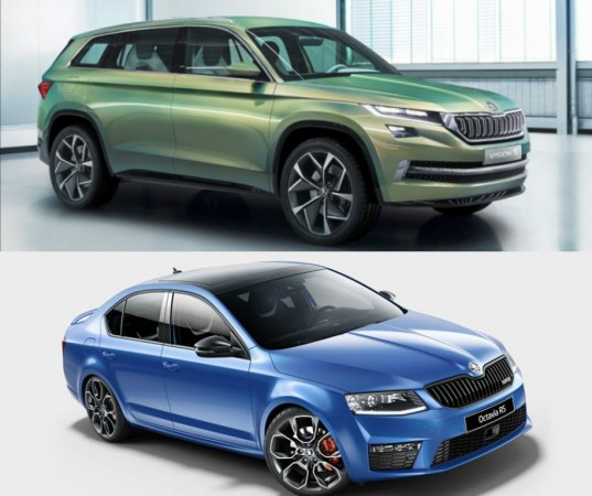 Skoda Kodiaq and Octavia RS