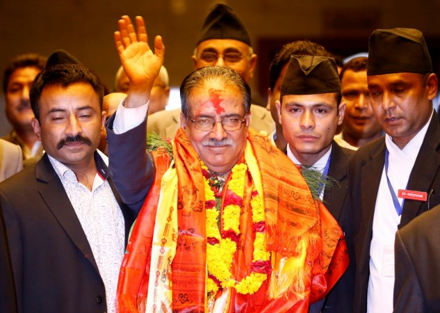 Nepal Prime Minister Prachanda
