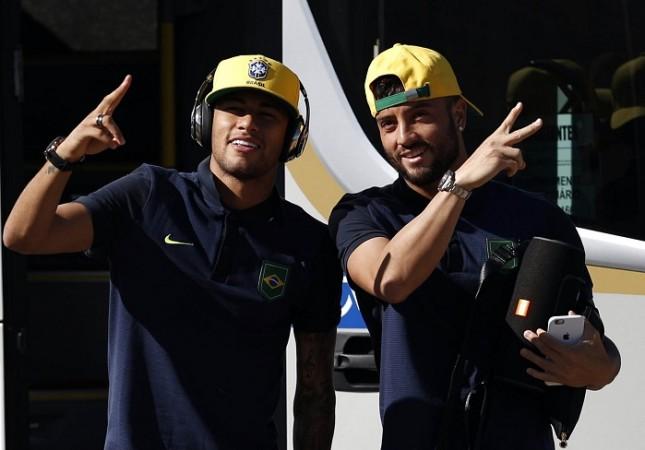 Neymar Felipe Anderson Brazil