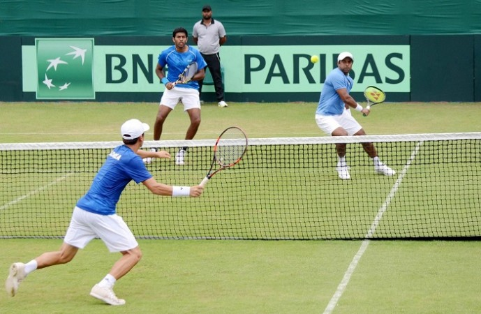 Leander Paes Rohan Bopanna India South Korea