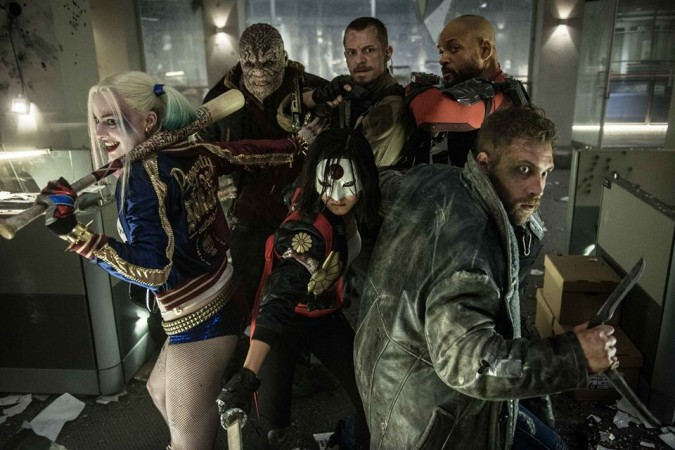 Harley Quinn with other members of Suicide Squad