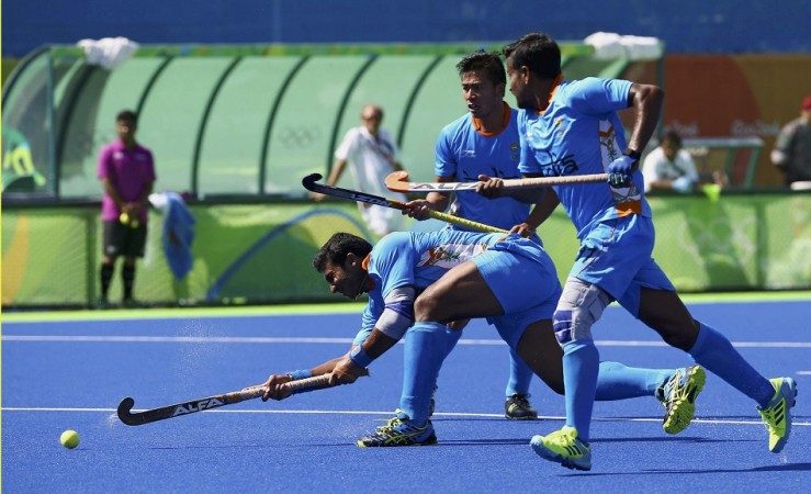 VR Raghunath India Rio Olympics