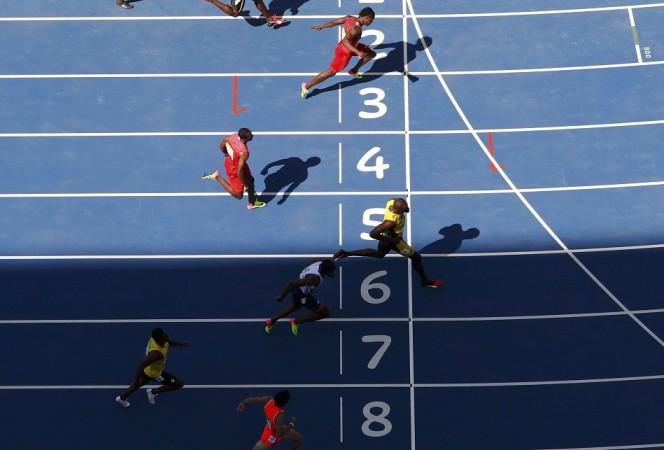 Usain Bolt 100m heats Rio Olympics