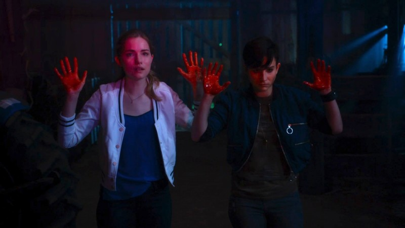 "Audrey and Emma are central characters of ""Scream"""