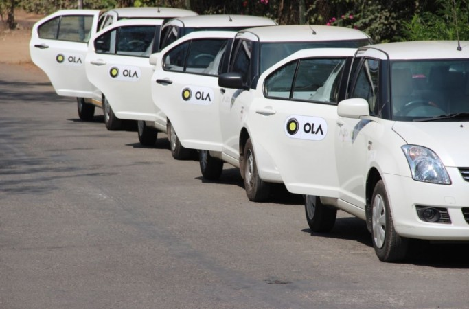 Ola cabs will dispense cash