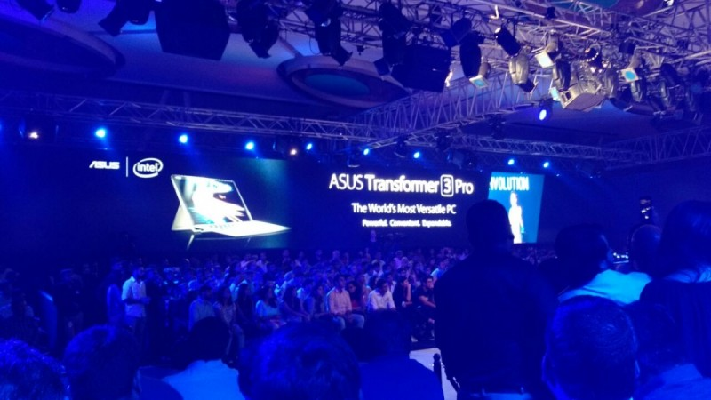 Asus Transformer 3 Pro launched in Delhi, India