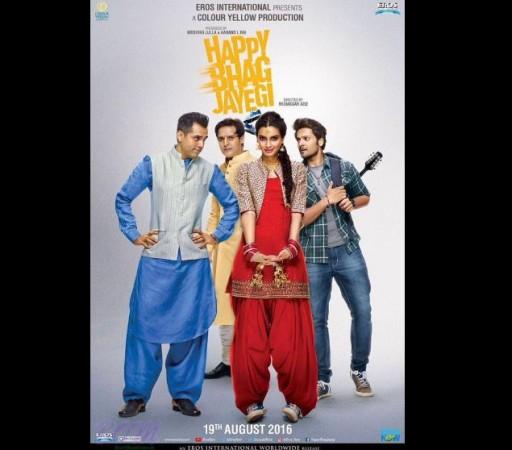 """""""Happy Bhag Jayegi"""" poster"""