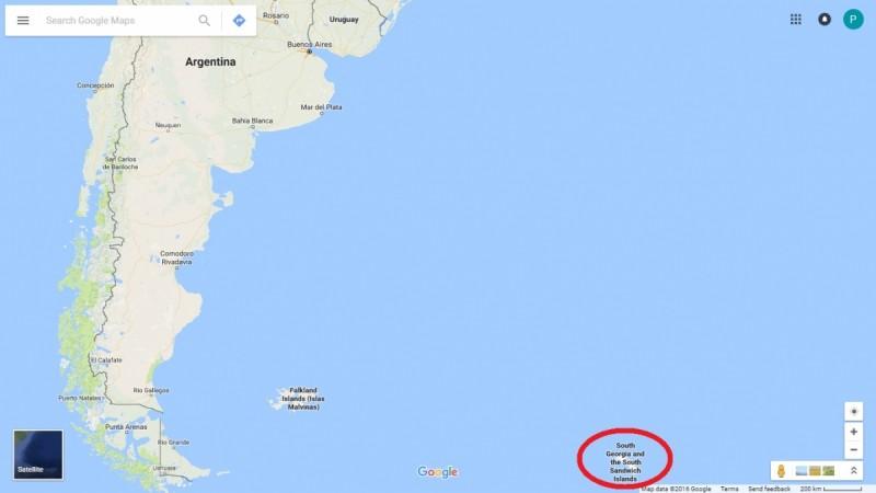 Earthquake hits islands close to Argentina