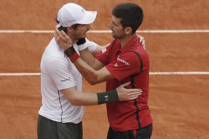Andy Murray Novak Djokovic French Open 2016 final