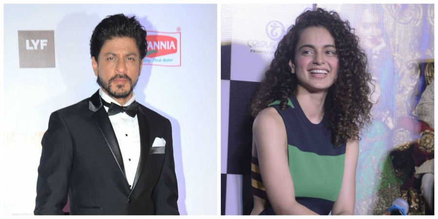 Shah Rukh Khan and Kangana Ranaut