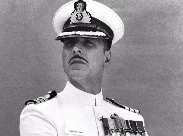 """Rustom"" set to cross Rs.200 crore mark at worldwide box office collection. Pictured: ""Rustom"" poster"
