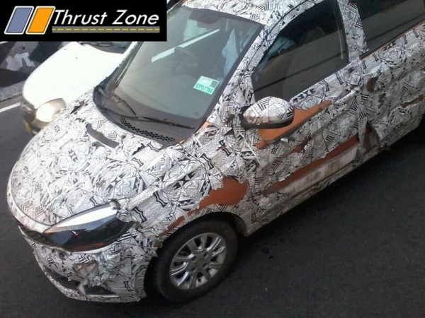 Tata Kite 5 compact sedan spied