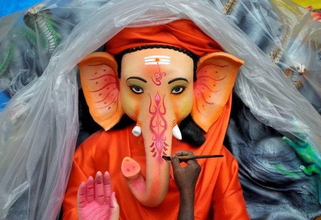 Ganesh Chaturthi falls on Monday, Sept.5