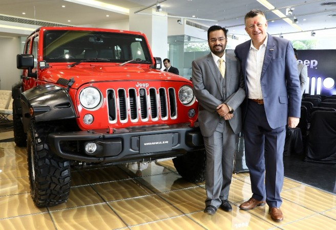 jeep india opens its first dealership in ahmedabad; 10 showrooms