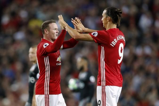 Rooney Zlatan Manchester United