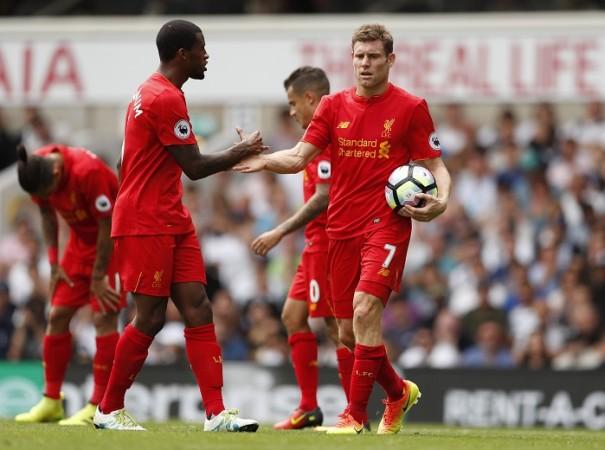 Wijnaldum Milner Liverpool