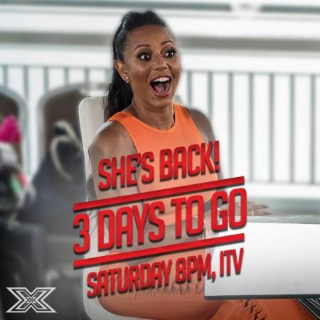 "Mel B on ""The X Factor"" UK 2016"