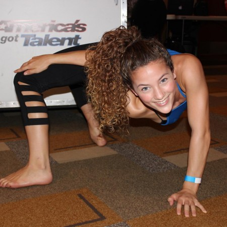 Contortionist Sofie Dossi