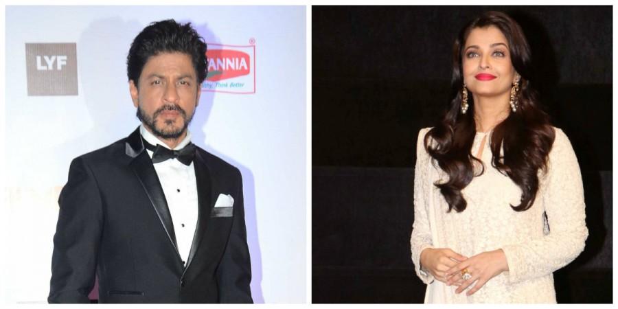 Shah Rukh Khan and Aishwarya Rai Bachchan