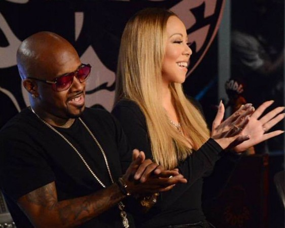 Jermaine Dupri and Mariah Carey