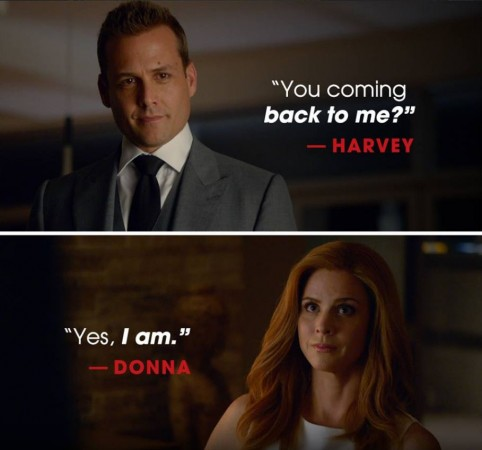 Harvey and Donna may finally become a couple in second half of Suits Season 6