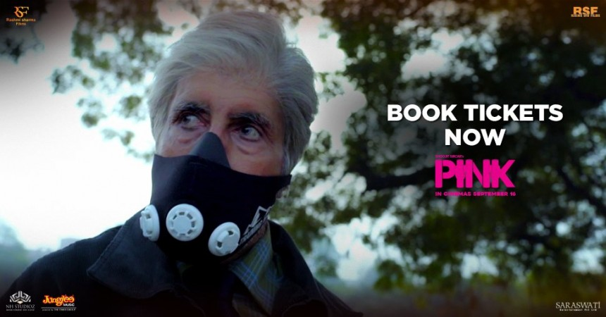 Pink day 4 box office collection. Pictured: Amitabh Bachchan in a still from Pink.