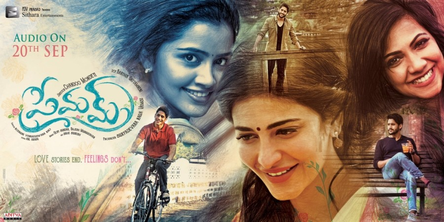 Premam audio launch poster