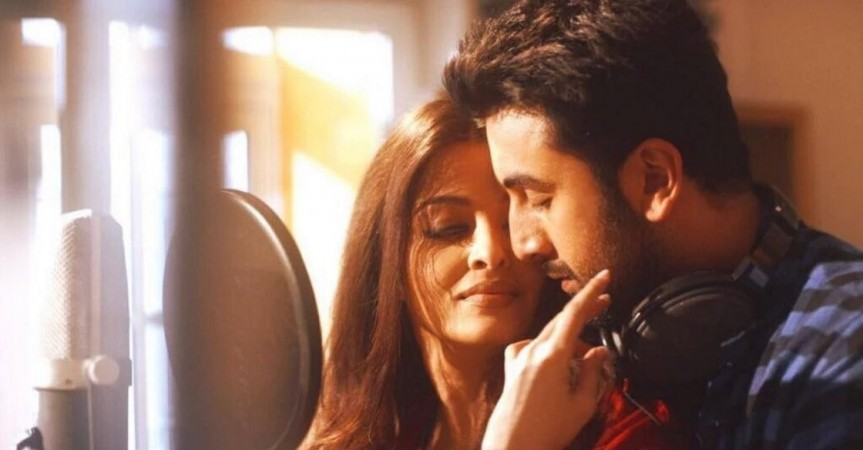 Ae Dil Hai Mushkil song Bulleya garners 12 million views. Pictured: Aishwarya Rai Bachchan and Ranbir Kapoor in a still from Bulleya song