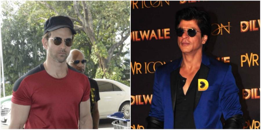Hrithik Roshan and Shah Rukh Khan