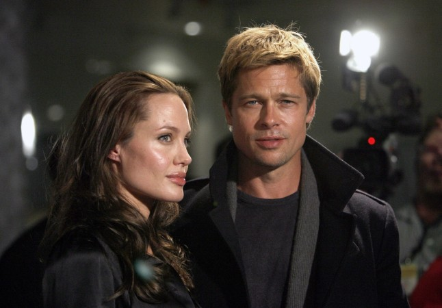 Brad Pitt and Angelina Jolie in 2007