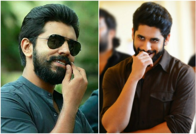 Nivin Pauly and Naga Chaitanya in Premam