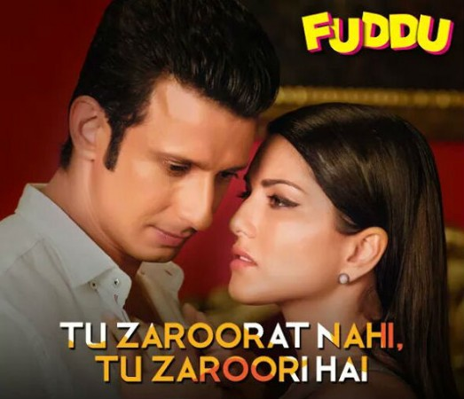 Sunny Leone and Sharman Joshi in Fuddu