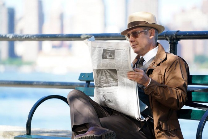 James Spader as Red in The Blacklist