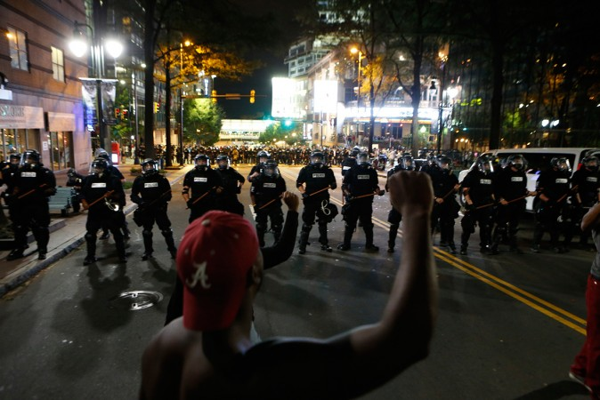 State of emergency declared in Charlotte after violent protests at police killing