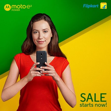 Moto E3 Power sale begins again on Monday midnight