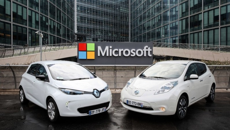Renault-Nissan Microsoft