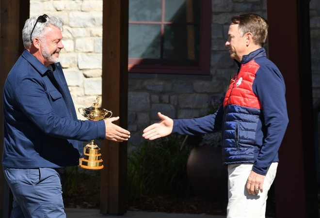 Darren Clarke Davis Love Ryder Cup